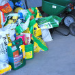Stock Photo: Lawn maintenance products.