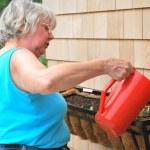 kadın, bahçıvan — Stok fotoğraf
