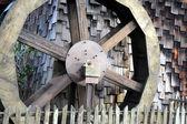 Wooden water wheel. — Foto Stock