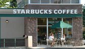 Starbucks koffie — Stockfoto