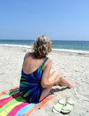 Beachcomber. — Stock Photo