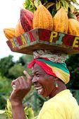 Grenada woman. — Stock Photo