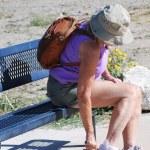 Female hiker. — Stock Photo #9687875
