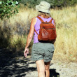 Female backpacker. — Stock Photo #9687887