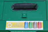 Recycle bins. — Stock Photo
