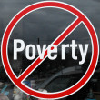 Stock Photo: Poverty symbol.