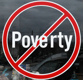 Poverty symbol. — Stock Photo
