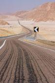 Zigzag road — Stock Photo