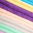 The combined  color towels — Photo