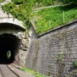 Railway tunnels. Used to transport goods - Stockfoto