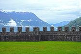 Old Fort in Bellinzona, Switzerland — Stok fotoğraf