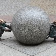 Gnome statue, Wroclaw, Poland - Stock Photo