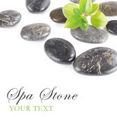 спа камень — Стоковое фото