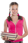 Portrait of the young girl — Stock Photo