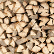 Woodpile of fire wood — Stock Photo #8767480