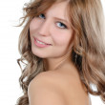 Portret van de jonge mooi meisje — Stockfoto