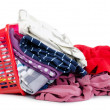 Heap of pure clothes — Stock Photo #9149242