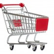 Shopping cart — Stock Photo #9149337