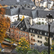 Luxembourg, the lower town - Stock Photo