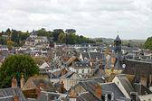 Rooftops in Amboise. Beautiful medieval village Amboise, Loire Valley, Fran — Stock Photo