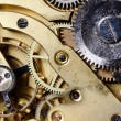 The mechanism of an old watch — Stock Photo #9486897