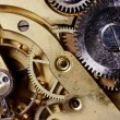 The mechanism of an old watch — Stock Photo