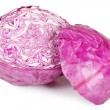 The red cabbage isolated - Stock Photo