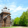 Wooden churches — Stock Photo #9487200