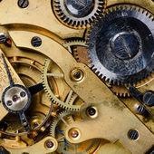 Il meccanismo di un vecchio orologio — Foto Stock