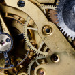 The mechanism of an old watch — Stockfoto
