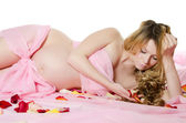 The pregnant woman — Stock Photo