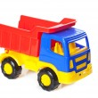 Colorful toy truck — Stock Photo