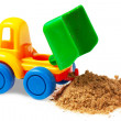 Colorful toy truck — Stock Photo #8023468
