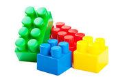 Plastic building blocks — Stock Photo