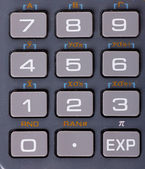 Calculator keyboard — Stock Photo