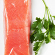 Salmon on a plate — Stock Photo #8769854
