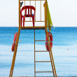 Lifeguard chair — Stock Photo #9130889