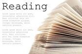 Otevřít knihu — Stock fotografie