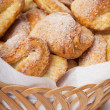Cookies with sugar — Stock Photo