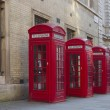 Red Phone Boxes — Stock Photo #8285241