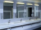 Interior of private restroom — Stock Photo