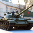 Old soviet tank — Stock Photo