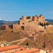 Castle of Cardona in Spain - Stock Photo