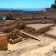 Ruins of the ancient amphitheater in Tarragona, Spain. — Stock Photo #8676434