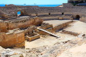 Ruins of the ancient amphitheater in Tarragona, Spain. — Stock Photo