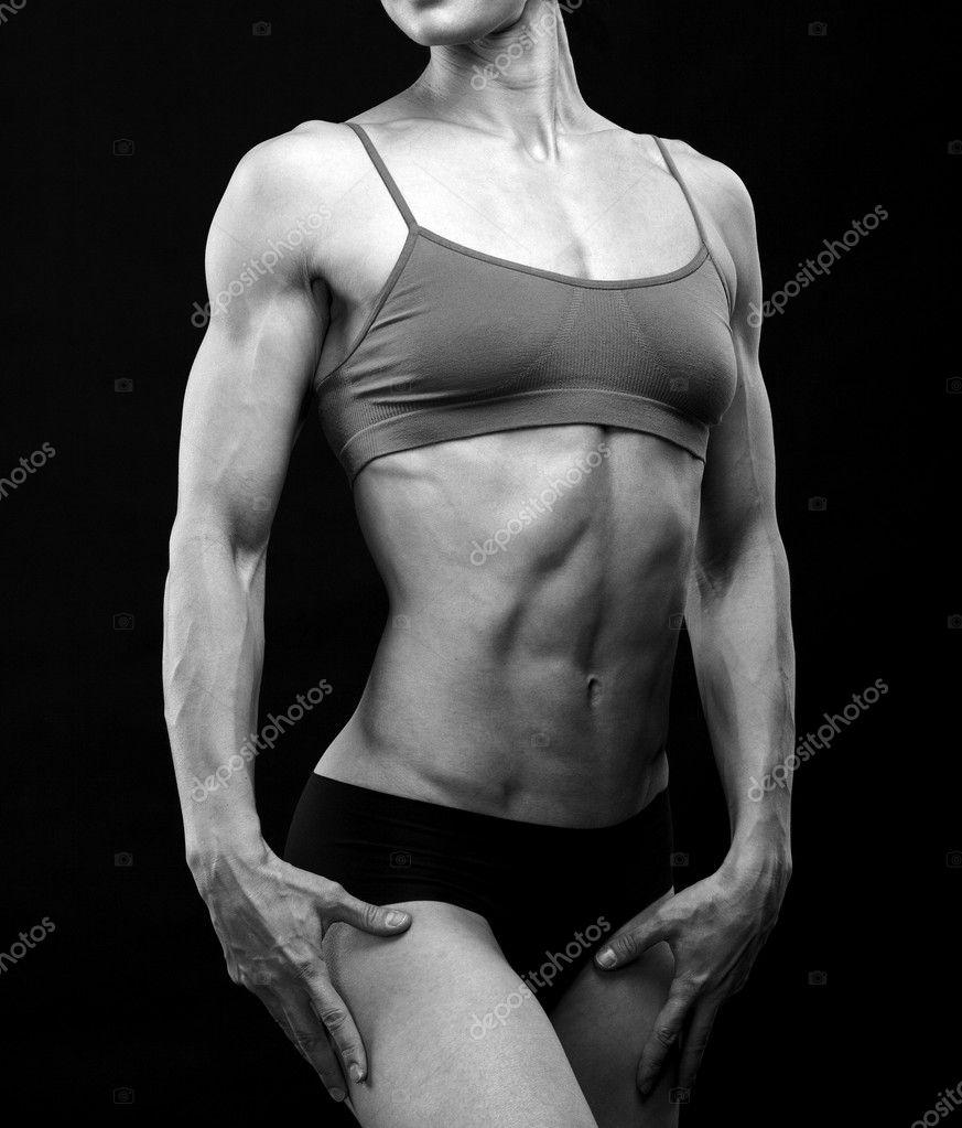 Черно-белые изображения мышечной ...: ru.depositphotos.com/9517129/stock-photo-black-and-white-image-of.html