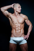 Fit male model — Stock Photo