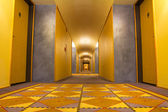 Hotel chodba — Stock fotografie