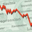 Economy recession concept — Stock Photo #9268186