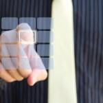 Wyczyść ekran dotykowy klawiatura i strony — Zdjęcie stockowe